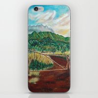 country iPhone & iPod Skins featuring Country by Art by Risa Oram