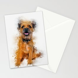 Border Terrier Stationery Cards