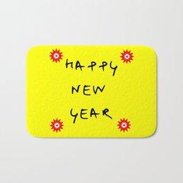 happy new year 13 Bath Mat