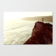 Sunsets & Cliffs Canvas Print
