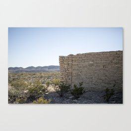 Terlingua Texas II Canvas Print