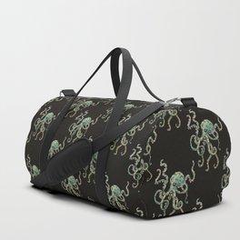 Green Octopus Duffle Bag