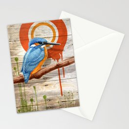 Kingfisher 1 Stationery Cards