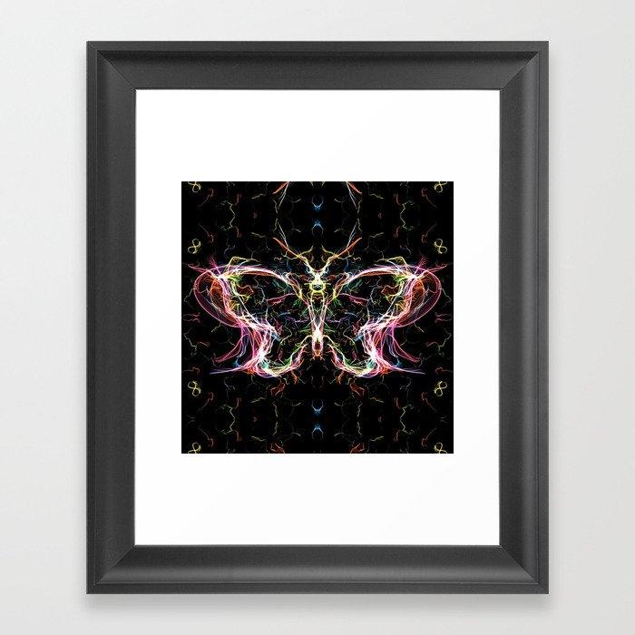 Radiant Lighting Erfly Framed Art