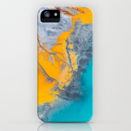 Abstract of minerals iPhone Case