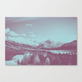 An Acorn and a Chestnut Canvas Print