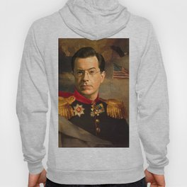 Stephen Colbert 19th Century Classical Painting Hoody