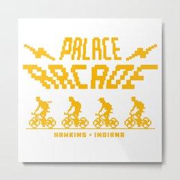 Palace Arcade 8 bit Metal Print