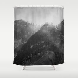 Glacier Point Shower Curtain