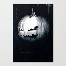 Keeping Up With Halloween Canvas Print