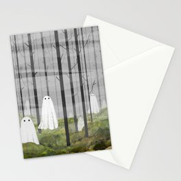 The Woods are full of Ghosts Stationery Cards