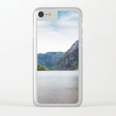 Lake Bohinj, Slovenia Clear iPhone Case