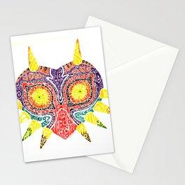 Mask of Nightmares (Majora's Mask) Stationery Cards