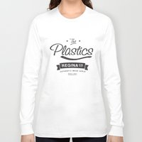 lindsay lohan Long Sleeve T-shirts featuring The Plastics - from the movie Mean Girls starring Lindsay Lohan by AllieR