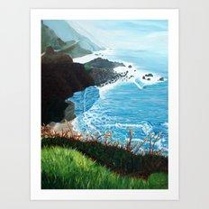 Now Entering Monterey  Art Print