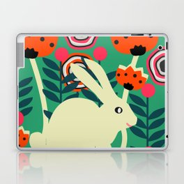 Little bunny in spring Laptop & iPad Skin