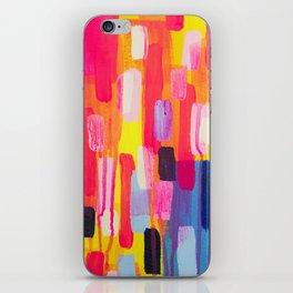 Neon Cities iPhone Skin