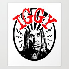 There is Only ONE Iggy  |  Iggy Pop Art Print