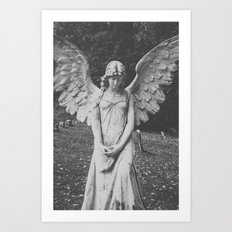 Angel no. 2 Art Print