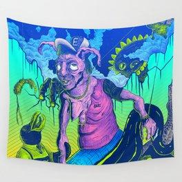 Perplex rabbit Wall Tapestry