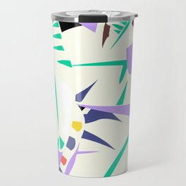 Memphis banana leaves Travel Mug