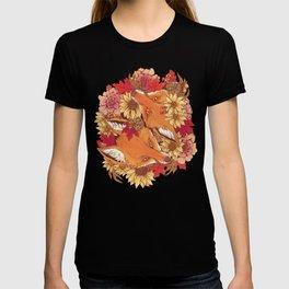 Autumn Fox Bloom T-shirt