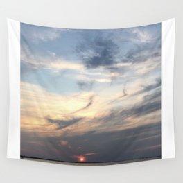 The Sun Sleeps Wall Tapestry