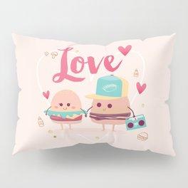 Burgers in Love Pillow Sham