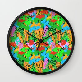 Jungle Groove Wall Clock
