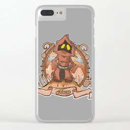 It is hot in desert! Clear iPhone Case