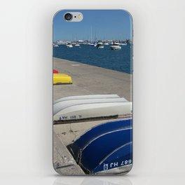 Chicago Shoreline, Skyline, Boats iPhone Skin