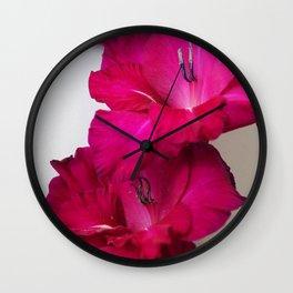 Vibrant Petals Wall Clock