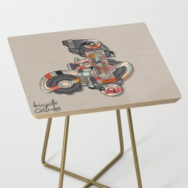 Campy Super Record Side Table