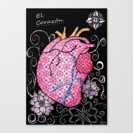 blackheart Canvas Print
