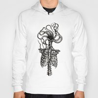 Hoodies featuring Curiosities - The Plaga by Sinpiggyhead