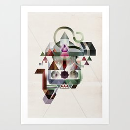 Coherence 2 Art Print