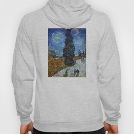 Vincent van Gogh - Road with Cypress and Star Hoody