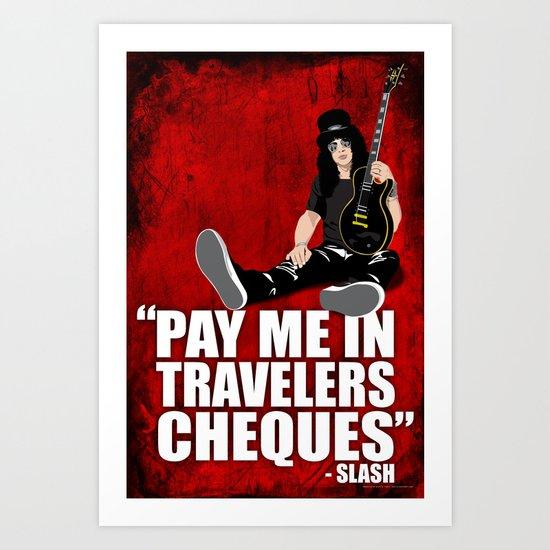 SLASH Quote Art Print