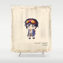 Chibi Simon Shower Curtain