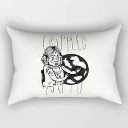 Crippled Youth Rectangular Pillow