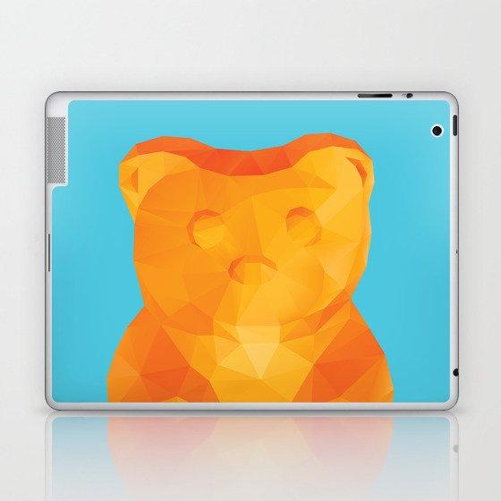 Gummy Bear Polygon Art Laptop & iPad Skin