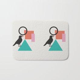 constructivist bird Bath Mat