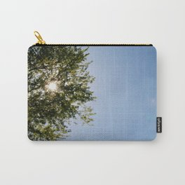 May Sunstar in the Trees Carry-All Pouch