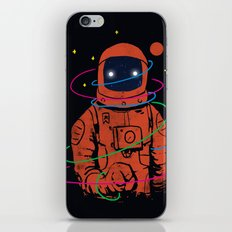 Circles In SPACE iPhone & iPod Skin