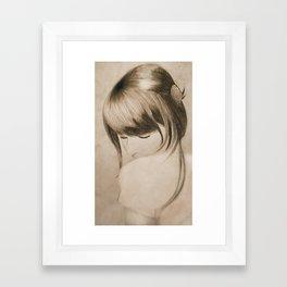 Elena Framed Art Print