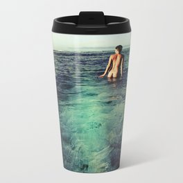 Nude Ocean Metal Travel Mug