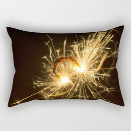 'Up in Smoke' (Sparks No.1) Rectangular Pillow
