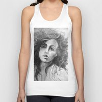 jessica lange Tank Tops featuring Jessica by Judy Hung