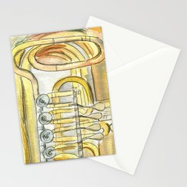 Tuba Tubs Stationery Cards