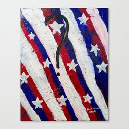 """Chaos USA"" Canvas Print"